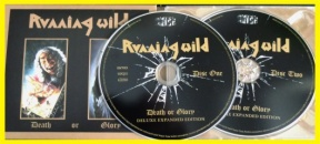 RUNNING WILD DEATH OR GLORY 2CD DELUXE