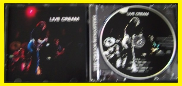 THE CREAM LIVE CREAM (1) - bazar