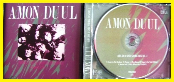 AMON DUUL AIRS ON A SHOE STRING - BEST OF (1) - bazar