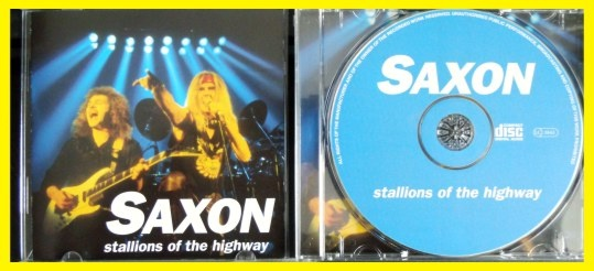 SAXON STALLIONS OF THE HIGHWAY (1) - bazar