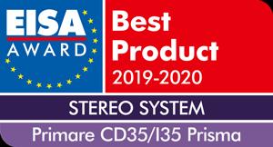 EISA Award - Primare CD 35 + I 35 Prisma