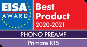 EISA Award - Primare R 15